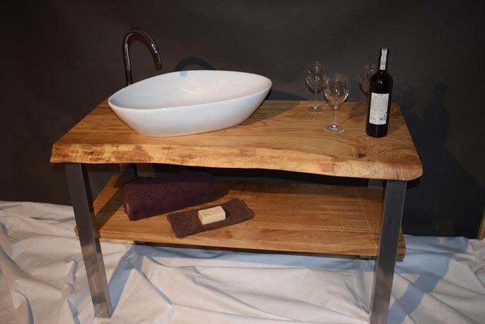 Nowoczesna Drewniana Szafka Pod Umywalkę Bath Concept