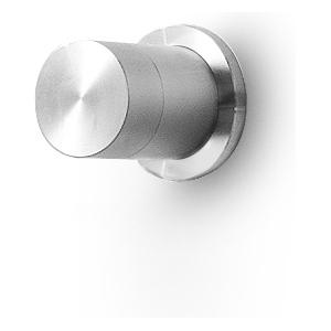 Linki PUR 101 mieszacz jednoobiegowy ścienny bateria mieszaczowa  jednouchwytowa podtynkowa stal nierdzewna szczotkowana