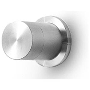 Linki PUR 104 zawór przełączający 2 drożny (bateria prysznicowo wannowa) jednouchwytowa podtynkowa stal nierdzewna szczotkowana