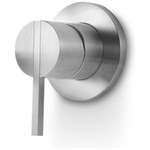 Linki STY 101 mieszacz jednoobiegowy ścienny bateria mieszaczowa  jednouchwytowa podtynkowa stal nierdzewna szczotkowana