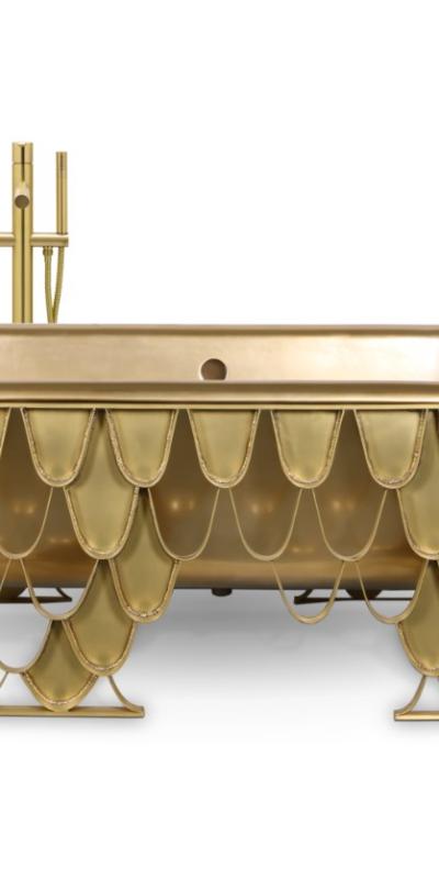 Maison Valentina Koi bathtub