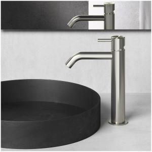 Hotbath Archie AR003M Bateria umywalkowa nablatowa stojąca
