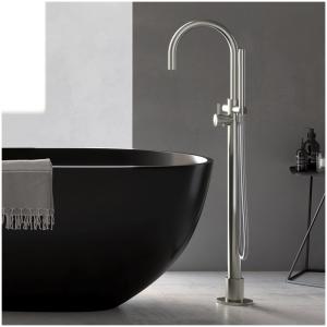 Hotbath Archie AR077 Bateria wannowa wolnostojąca z wężem i słuchwką prysznicową