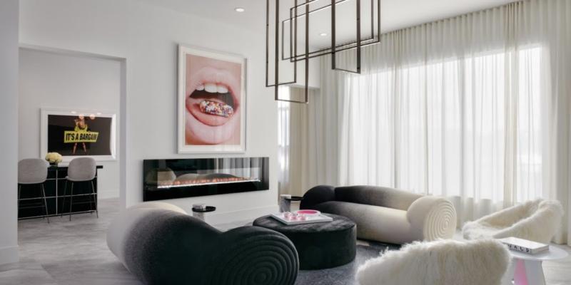 Venicem lampa Mondrian LED Custom Melanie Morris