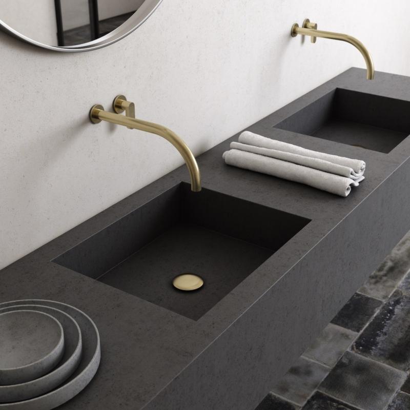 Cocoon John Pawson umywalka baterie umywalkowe ścienne