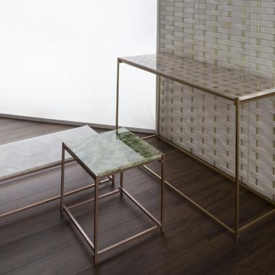 Kreoo stolliki stoły konsole z blatem z marmuru