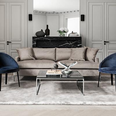 Layered Sofa velvet
