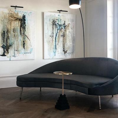 Layered sofa
