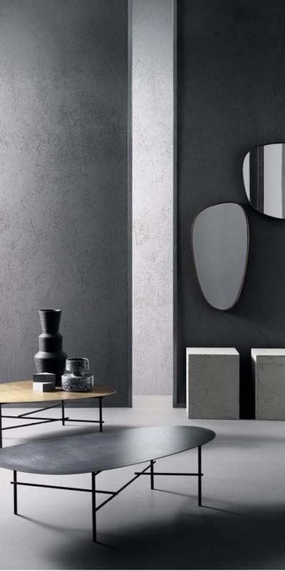 De castelli existence lawki stóły szafa szafka metal komoda lampa lighting lustro mirror