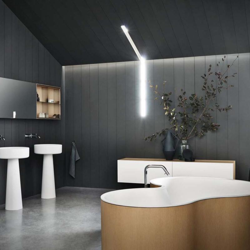 Agape bjhon1 umywalka wolnostojąca łazienka salon kąpielowy ceramika