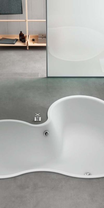 Agape built in bathtub mk27 studio wanna wbudowana łazienka salon kąpielowy ceramika