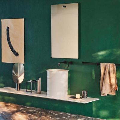 Agape vieques outdoor h50cm patricia urquiola umywalka nablatowa wolnostojąca łazienka salon kąpielowy ceramika