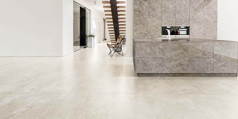 Ariostea concrea beton cement concrete effect efekt podłogowa ceramika płyty płytki okładzina ścienna spiek spieki kwarcowe