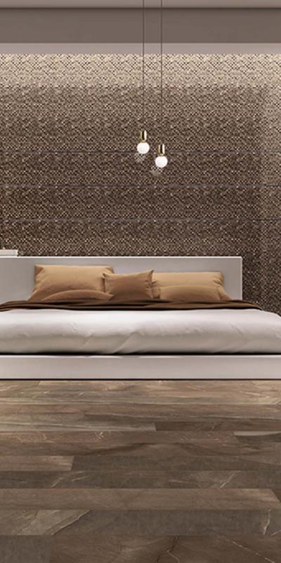 Cerdomus pulpis ceramika płytki podłoga ściana sypialnia