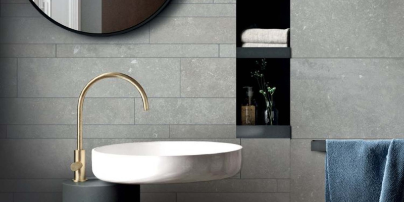 Flaviker ash mix plyta ceramika plyta ściana podłoga łazienka
