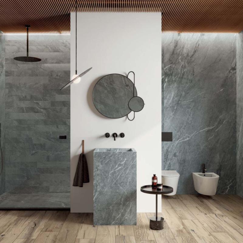 Flaviker blue savoy plyta ceramika plyta ściana podłoga łazienka