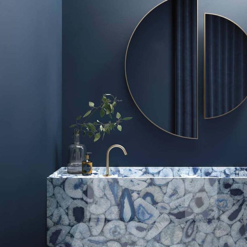Graniti fiandre płytki agata maximum blu niebieski
