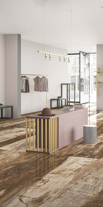 Graniti fiandre płytki eminent wood maximum eminent brown brązowy