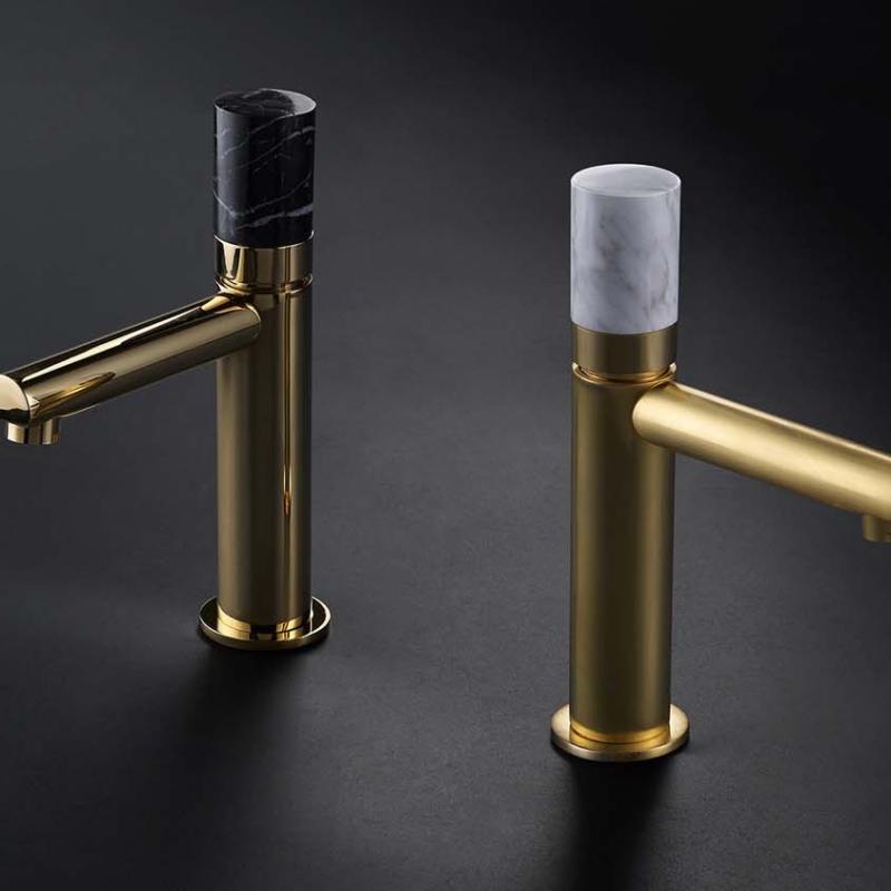 Maier griferiasmaier cylinder contemporary armatura baterie lazienkowe kuchenne skulpture