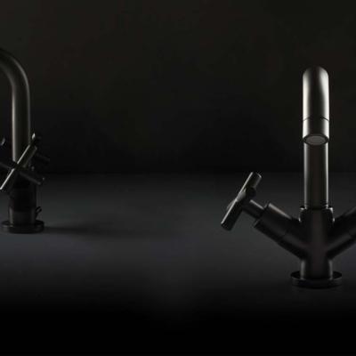 Maier griferiasmaier maxima contemporary armatura baterie lazienkowe kuchenne skulpture