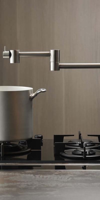 Mina inox pot filler faucet 9600 armatura bateria umywalkowa bateria kuchenna