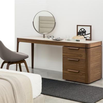Porada aphrodite toaletka stolik stół lite drewno mrble krzeslo