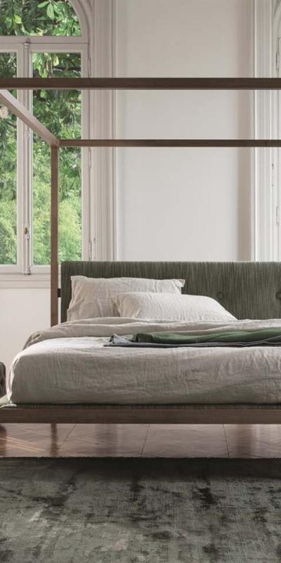 Porada ziggy bed baldacchino łóżko baldachim sypialnia toaletka stolik stół lite drewno mrble krzeslo