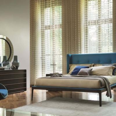 Porada ziggybed łóżko baldachim sypialnia toaletka stolik stół lite drewno mrble krzeslo