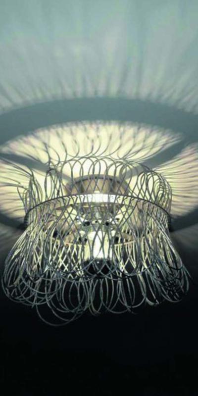 Quasar lights lamp lampa żyrandol oświetlenie cloche ceiling cmyk interior