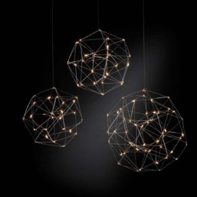 Quasar lights lamp lampa żyrandol oświetlenie cosmos globe interior