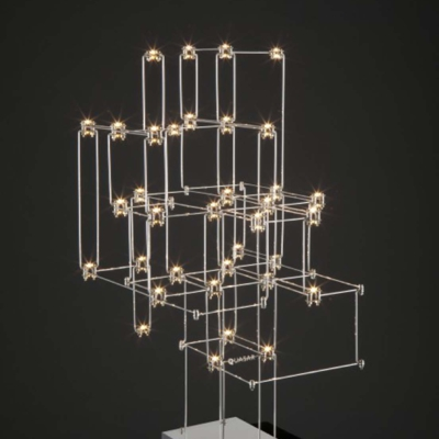Quasar lights lamp lampa żyrandol oświetlenie orion table interior