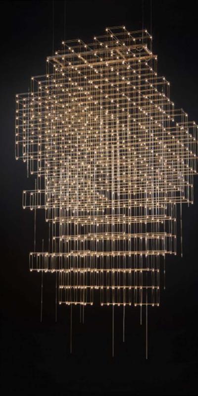 Quasar lights lamp lampa żyrandol oświetlenie pollux interior