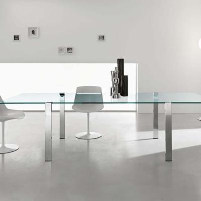 Tonelli design szkło biuro stół livingstand ceramic 01