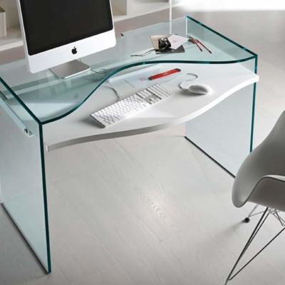 Tonelli design szkło biuro stół strata