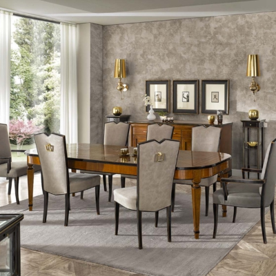 Tosato verona meble włoskie zestaw jadalnia stół krzesła