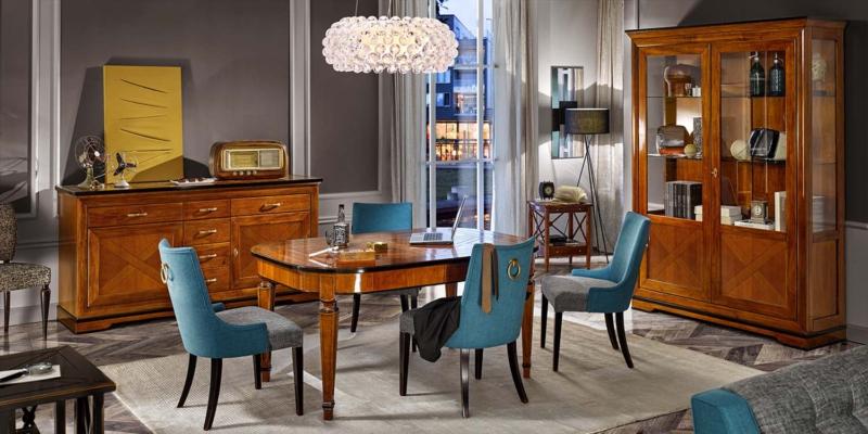 Tosato verona meble włoskie zestaw jadalnia stół krzesła mod tania