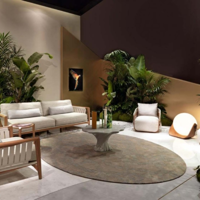 Visionnaire salone del mobile green life and kathryn room meble salon kanapa fotel