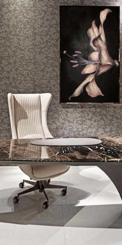 Visionnaire jet plane office biuro gabinet biurko room meble sypialnia kanapa fotel