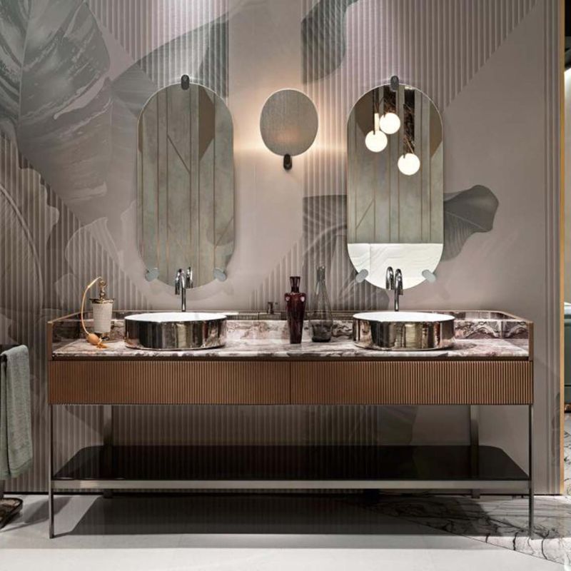 Visionnaire kobol anniversary bathroom łazienka meble salon kanapa fotel szafka komoda
