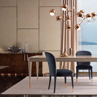 Volpi luigi volpi dining jadalnia nowoczesna stół krzeslo meble