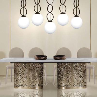 Zanaboni ilussion modern dining jadalnia stół krzesła fotele