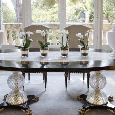 Zanaboni nuovadachiaverta classic dining jadalnia stół krzesła