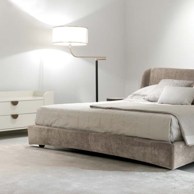 Zanaboni suite modern bedroom sypialnia łóżko komoda konsola lampa