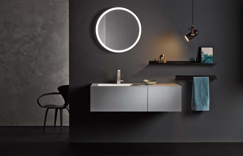 Alape lustro okragle   podswietlane alape Warsaw Design Salon Warszawa