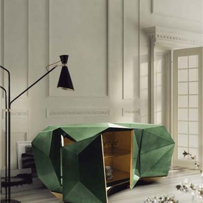 Boca do lobo diamond emerald   biurko Warsaw Design Salon Warszawa