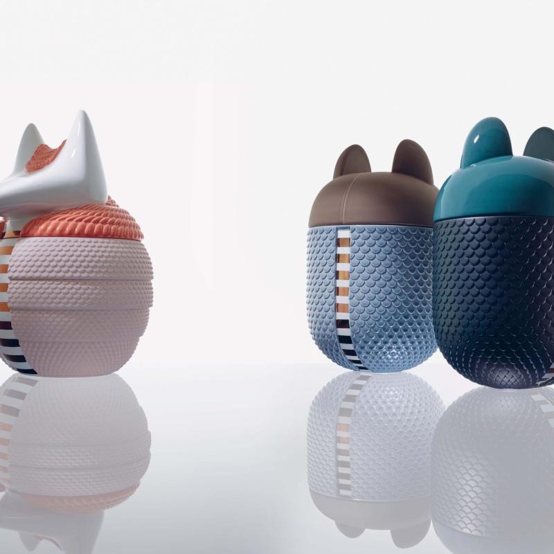 Bosa pojemnik z pokrywka   szkatulka ceramikatrade Warsaw Design Salon Warszawa