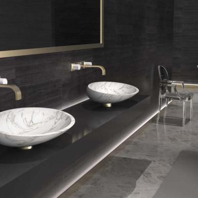 GlassDesign owalne marmurowe   umywalki Kool Max Warsaw Design Salon Warszawa