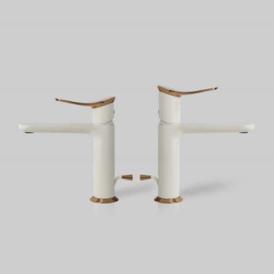 Huber harlock bateria   umywalkowa biala Warsaw Design Salon Warszawa