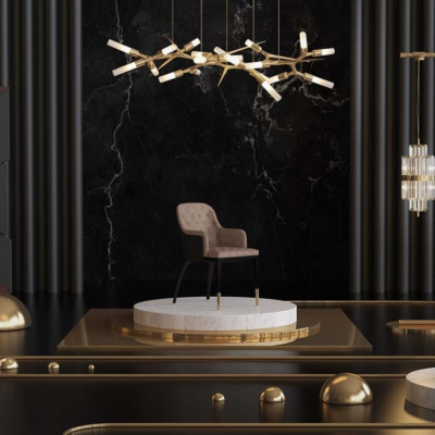 Luxxu lampy krzesło Warsaw   Design Salon Warszawa