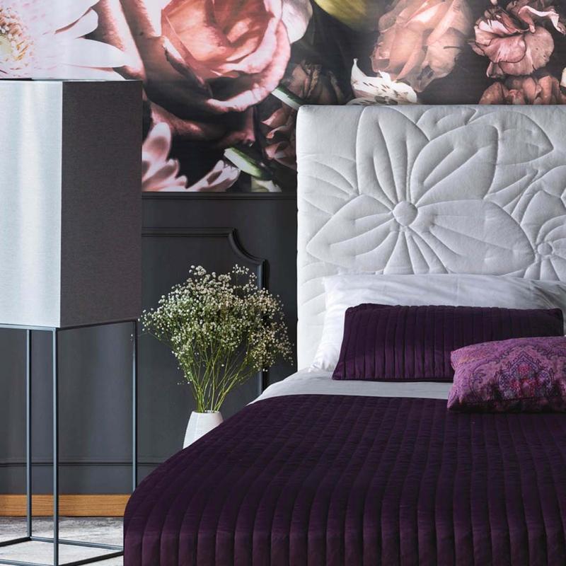 Milano Bedding łóżko mauritius   pikowane Warsaw Design Salon Warszawa
